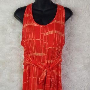 Patagonia Kiawah Bamboo Print Dress